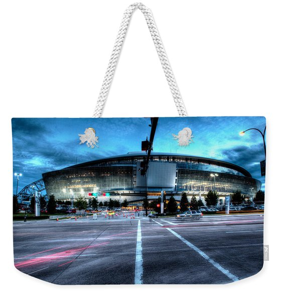 Cowboys Stadium Pregame Weekender Tote Bag