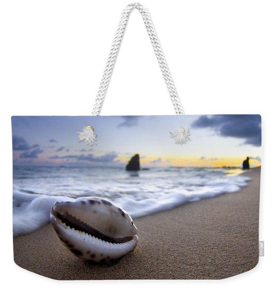 Cowrie Sunrise Weekender Tote Bag