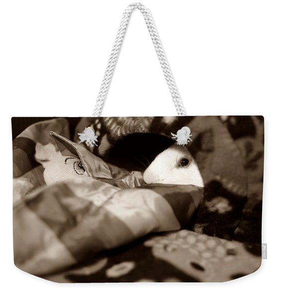 Cozy Cavy Weekender Tote Bag