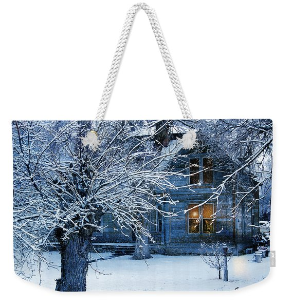 Weekender Tote Bag featuring the photograph Cozy by Gunter Nezhoda