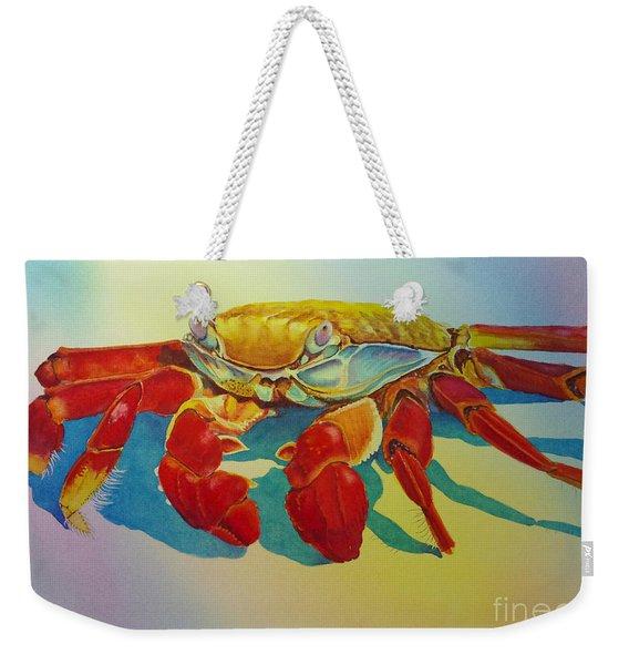 Colorful Crab  Weekender Tote Bag