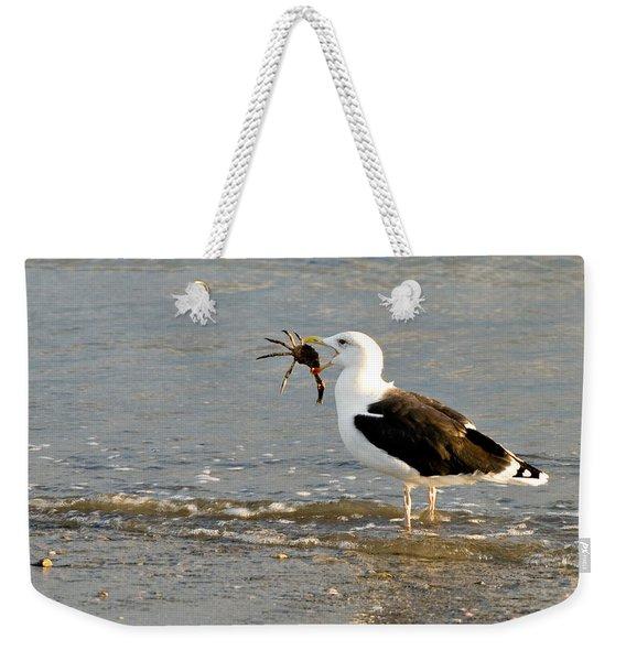 Crab For Dinner Weekender Tote Bag