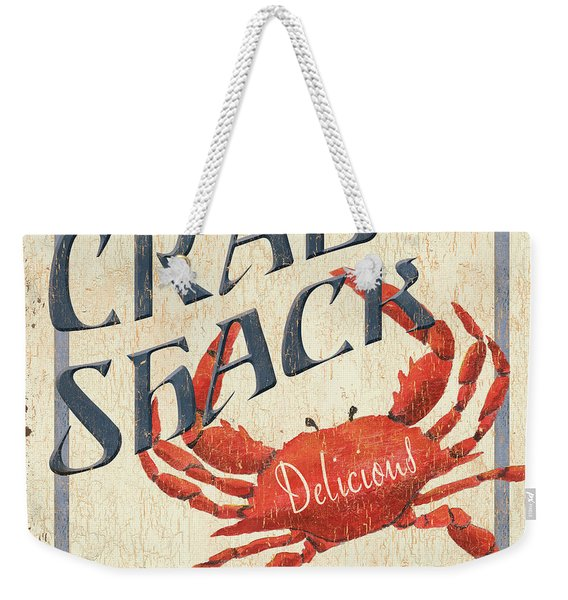 Crab Shack Weekender Tote Bag