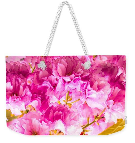 Crabapple Impressions 2 Weekender Tote Bag