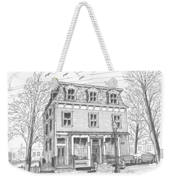 Cranberry's Cafe Circa 1884 Weekender Tote Bag