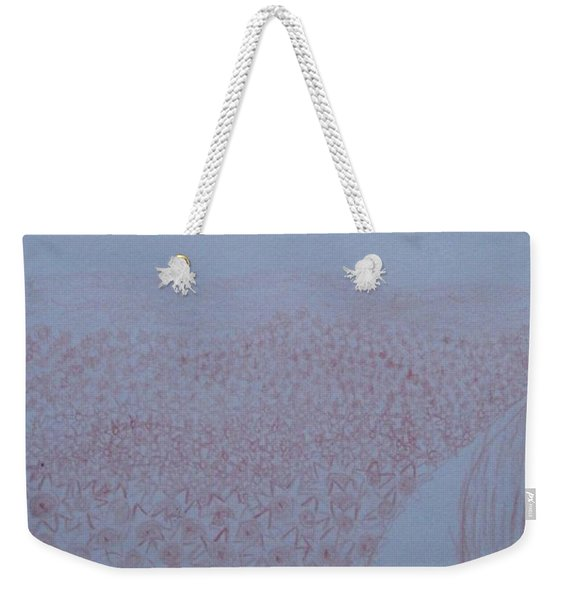 Crazy Quilt Star Gown Weekender Tote Bag