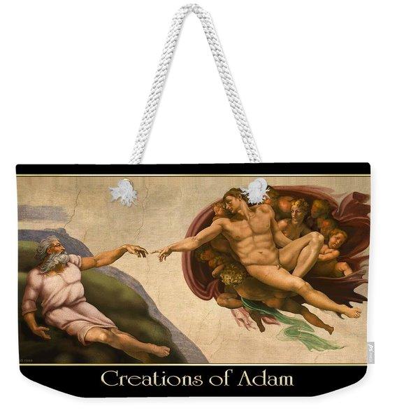 Creations Of Adam Weekender Tote Bag