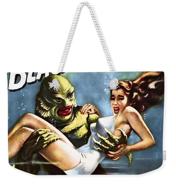 Creature From The Black Lagoon Lobby Poster 1954 Weekender Tote Bag