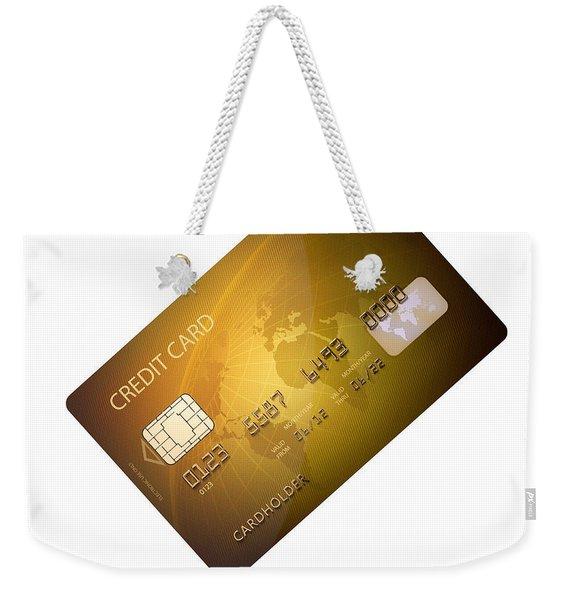 Credit Card Weekender Tote Bag