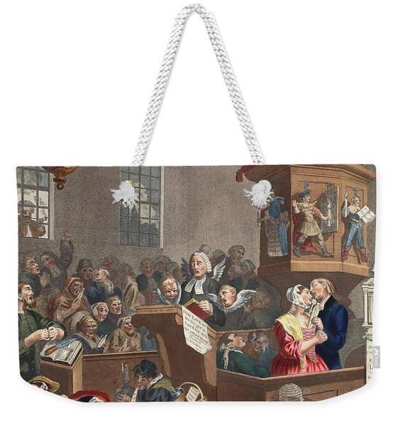Credulity, Superstition And Fanaticism Weekender Tote Bag