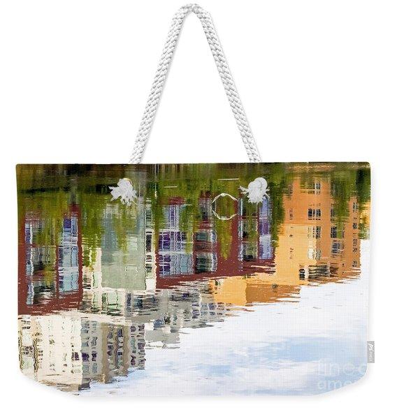 Creekside Reflections Weekender Tote Bag