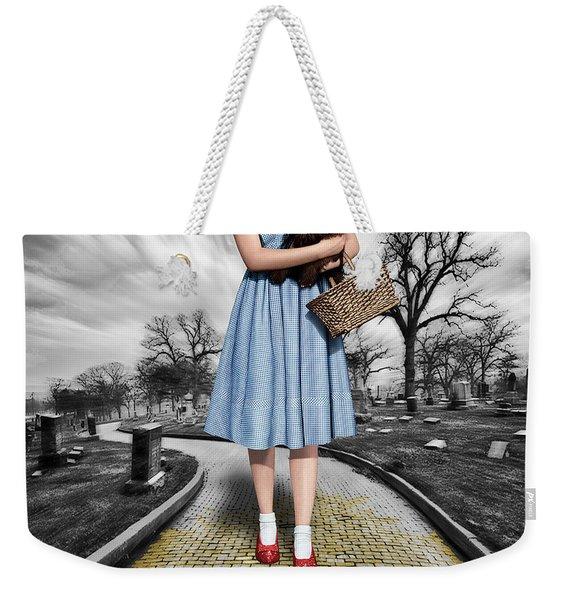 Creepy Dorothy In The Wizard Of Oz Weekender Tote Bag
