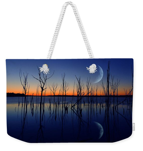The Crescent Moon Weekender Tote Bag