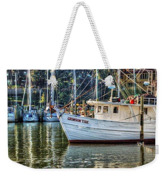 Crimson Tide In The Sunshine Weekender Tote Bag
