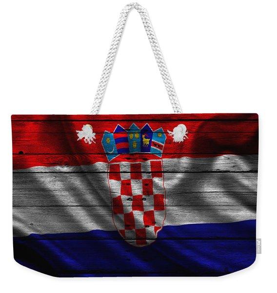 Croatia Weekender Tote Bag