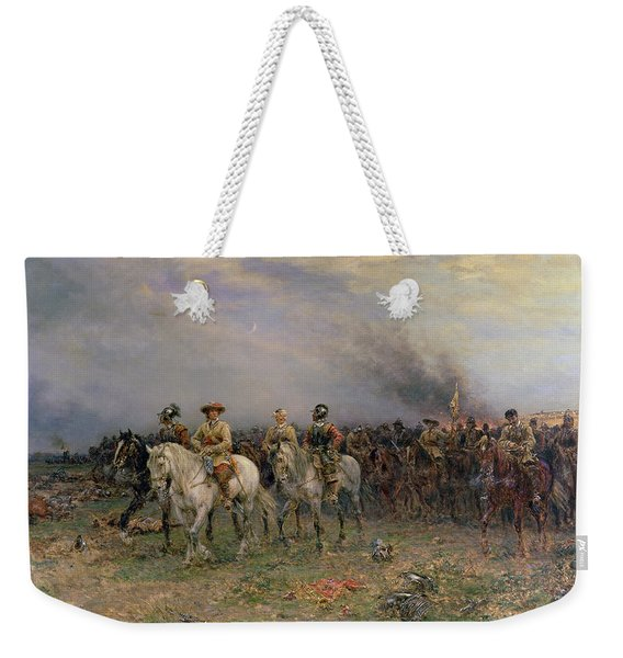 Cromwell After The Battle Of Marston Weekender Tote Bag