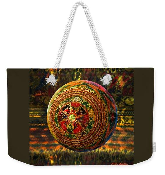 Croquet Crochet Ball Weekender Tote Bag