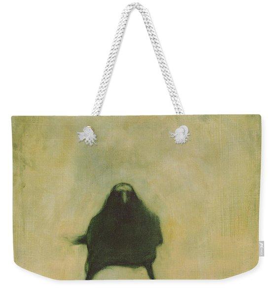 Crow 6 Weekender Tote Bag
