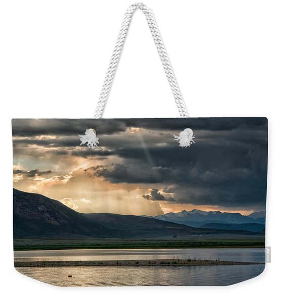 Crowley Lake Weekender Tote Bag