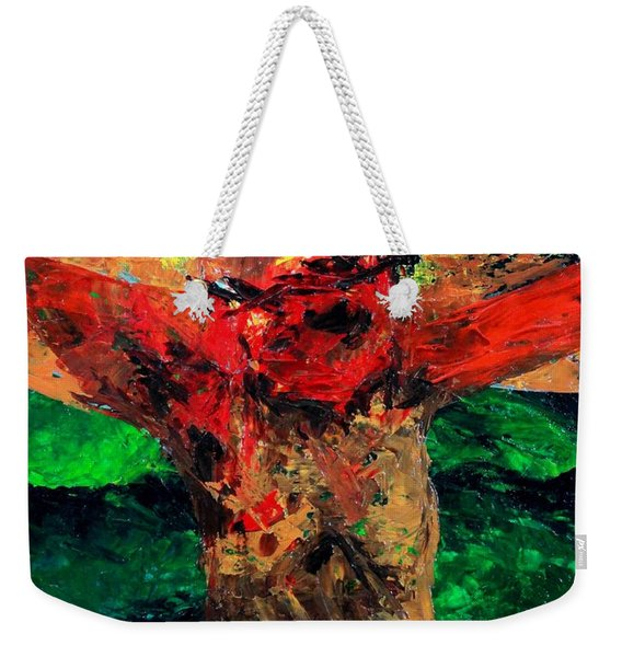 Crucifixion   It Is Finished Weekender Tote Bag