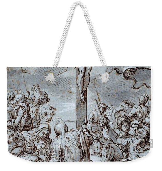 Crucifixion Weekender Tote Bag