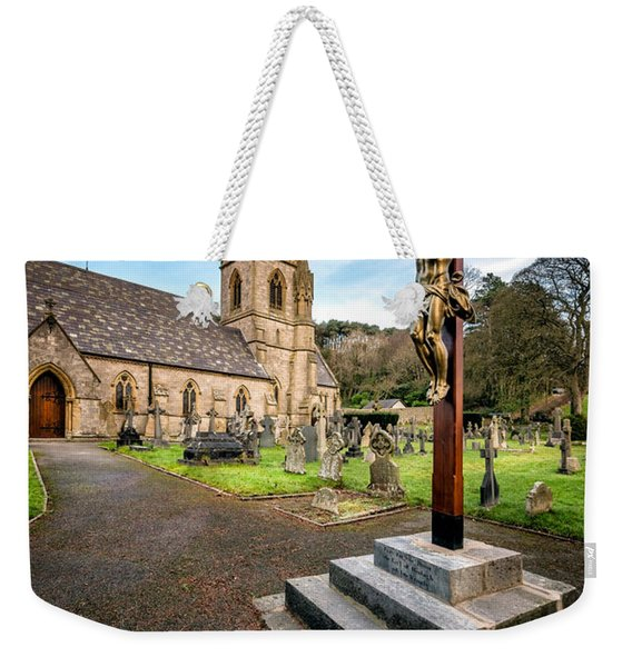 Crucifixion Of Jesus Weekender Tote Bag