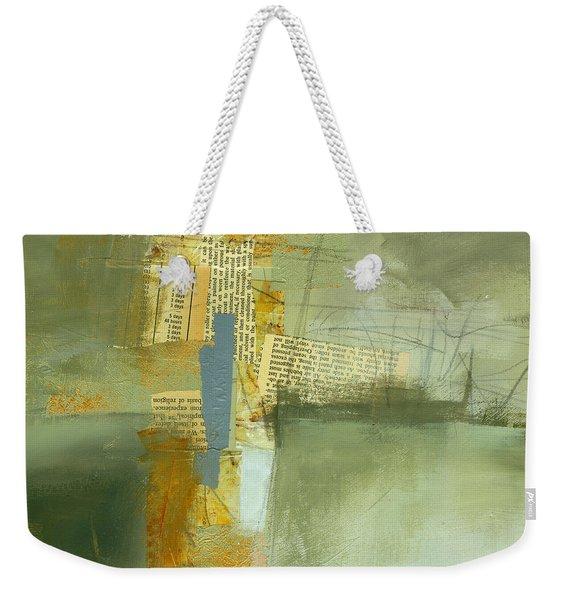 Cruciform Study Neutral Weekender Tote Bag