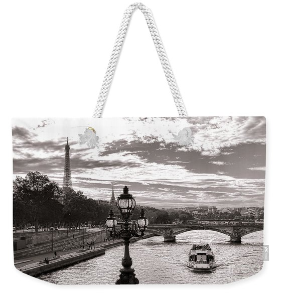 Cruise On The Seine Weekender Tote Bag