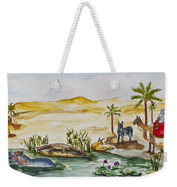 Cruising Along The Nile Weekender Tote Bag