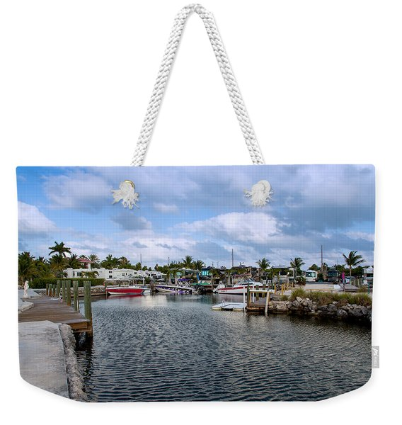 Cruising Into Camp Weekender Tote Bag