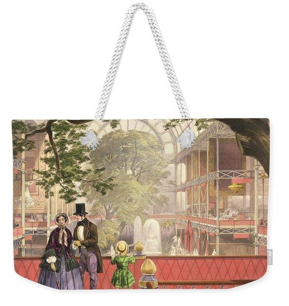 Crystal Palace, The Transept Weekender Tote Bag