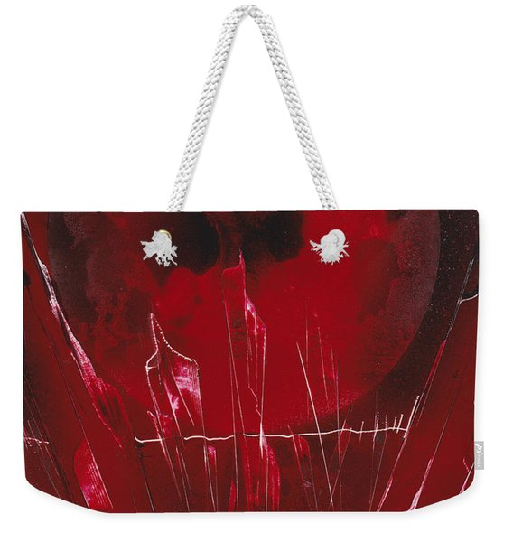 Crystal Planet Weekender Tote Bag