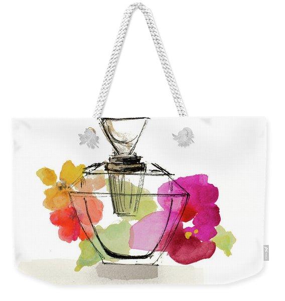 Crystal Watercolor Perfume II Weekender Tote Bag