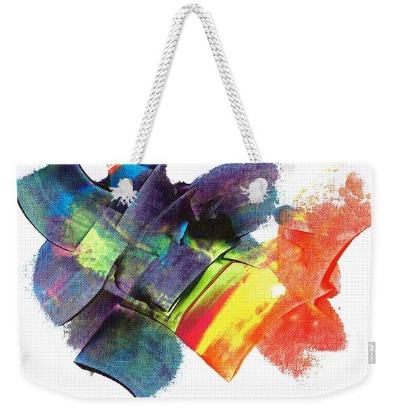 Crystaline Rainbows Weekender Tote Bag