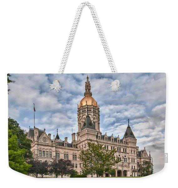 Ct State Capitol Building Weekender Tote Bag