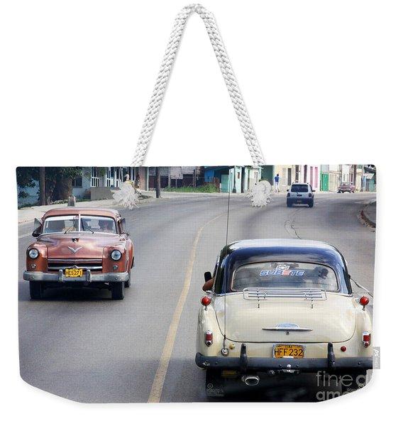 Cuba Road Weekender Tote Bag