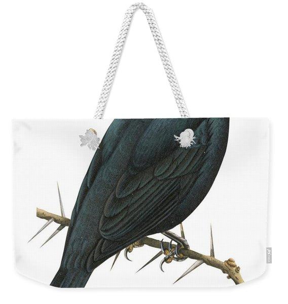 Cuckoo Shrike Weekender Tote Bag