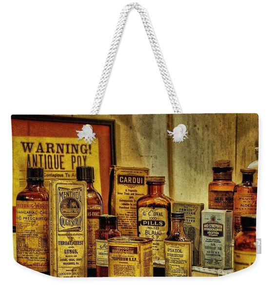 Cure Ya Or Kill Ya Weekender Tote Bag
