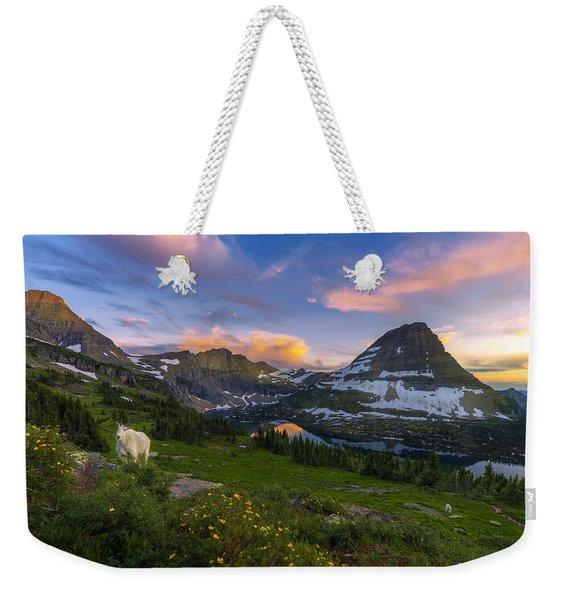 Curious Goat Weekender Tote Bag