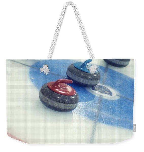 Curling Stones Weekender Tote Bag