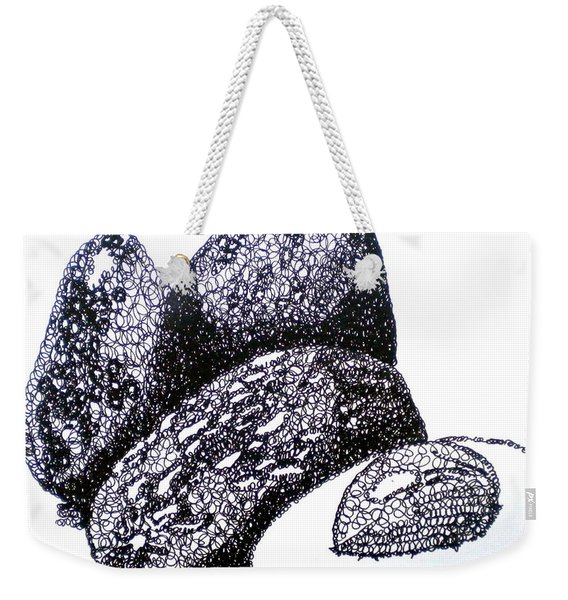Curly Avocados Weekender Tote Bag