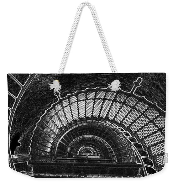 Currituck Lighthouse Stairs Weekender Tote Bag