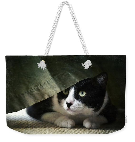 Curtain Call Weekender Tote Bag
