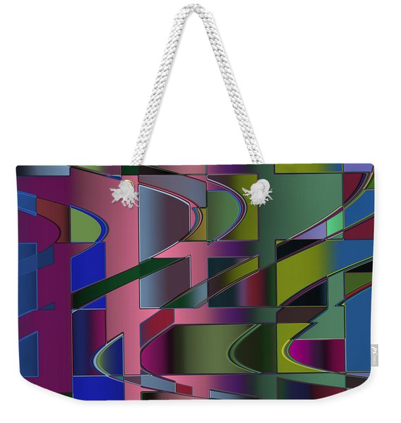 Curves And Trapezoids 3 Weekender Tote Bag