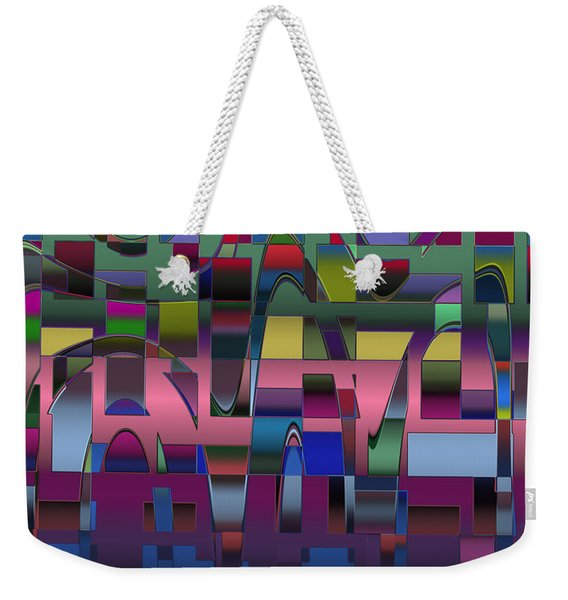Curves And Trapezoids  Weekender Tote Bag