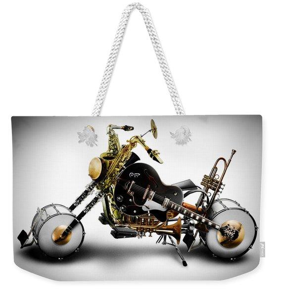 Custom Band II Weekender Tote Bag