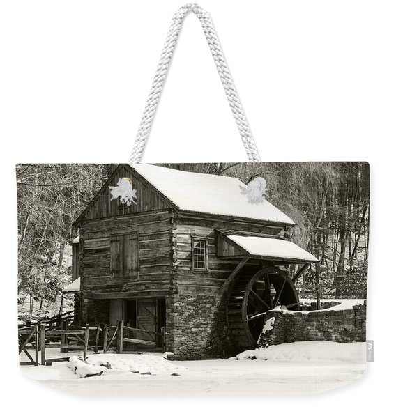 Cuttalossa In Winter Iv Weekender Tote Bag
