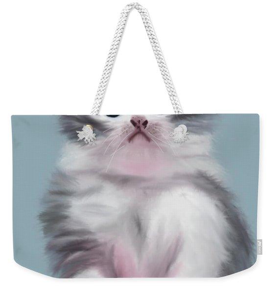 Cute Kitten Weekender Tote Bag