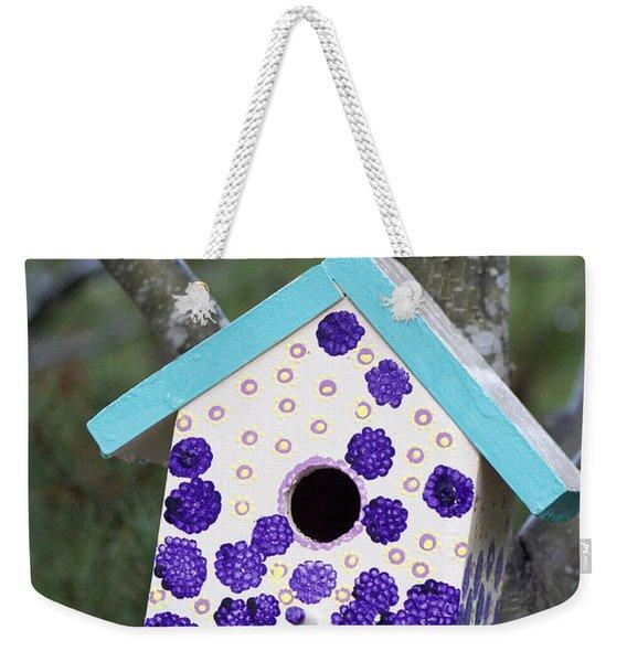 Cute Little Birdhouse Weekender Tote Bag