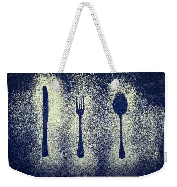 Cutlery Series Weekender Tote Bag